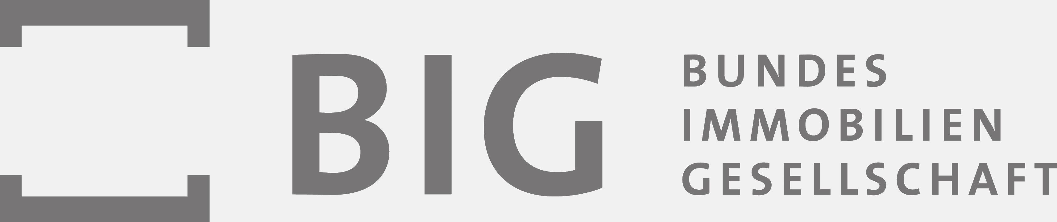 Das Logo der Bundesimmobiliengesellschaft.
