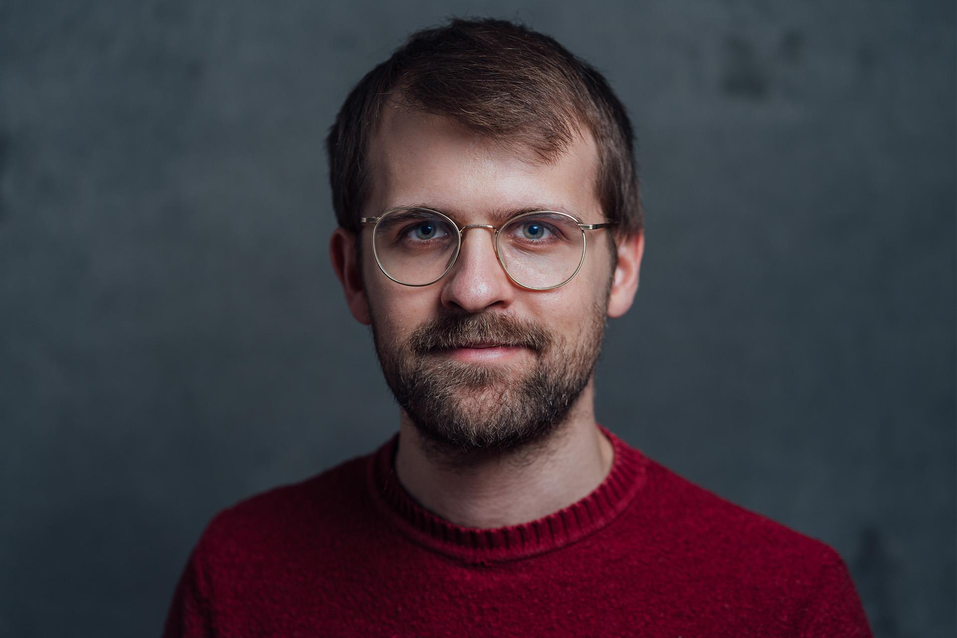 Ein Selbstportrait von Michael Prügl.